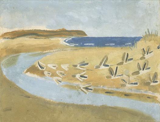Sandpipers, Alnmouth, 1933 - Winifred Nicholson