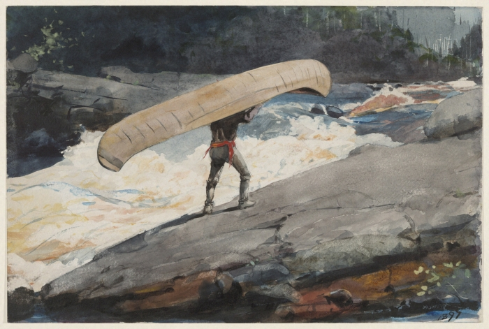 The Portage - Winslow Homer