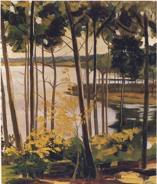 Mimizan Lake - Уинстон Черчилль