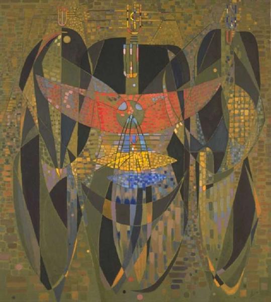 Messenger from the Three Poles, 1949 - Вольфганг Паален