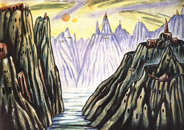Lago Monti, 1921 - Xul Solar