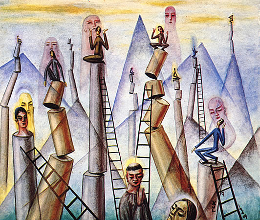 Santos y Guardianes, 1949 - Xul Solar