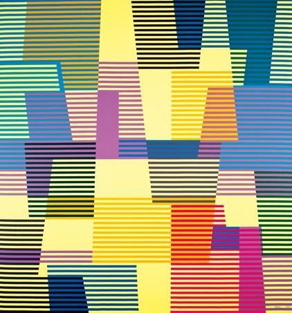 Untitled, 1988 - Yaacov Agam