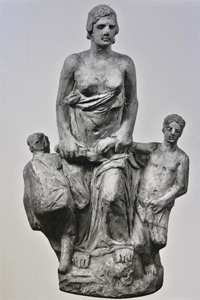 Medea III, 1933 - Yannoulis Chalepas