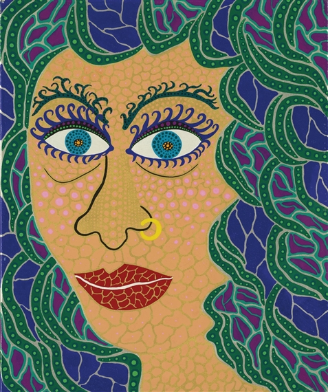 Watching the Sea, 1989 - Yayoi Kusama