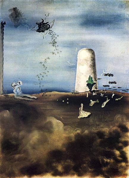 Death Awaiting his Family - Yves Tanguy
