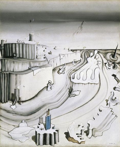 Promontory Palace, 1931 - Yves Tanguy
