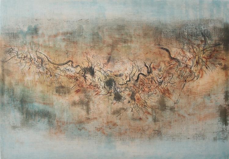 Vent et poussière, 1957 - Zao Wou-Ki
