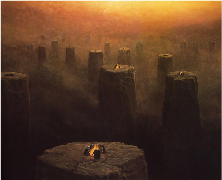 Untitled, 1978 - Здіслав Бексинський
