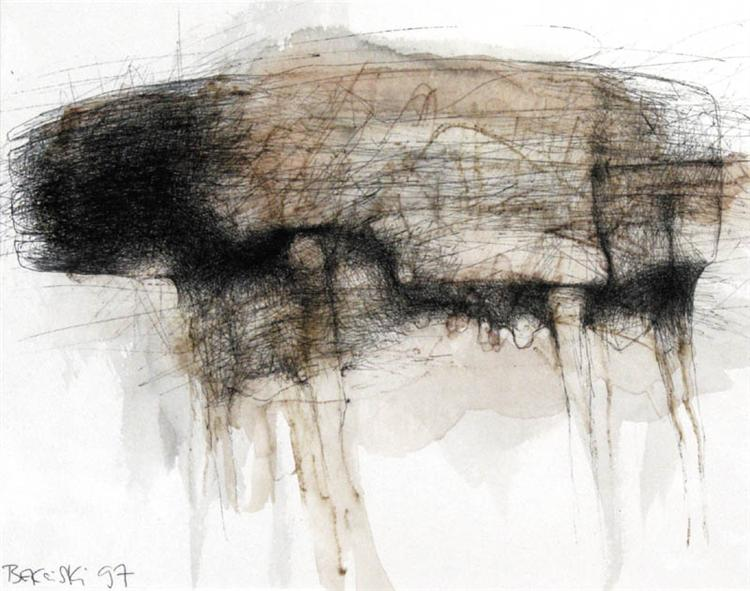 Untitled, 1997 - Zdzislaw Beksinski