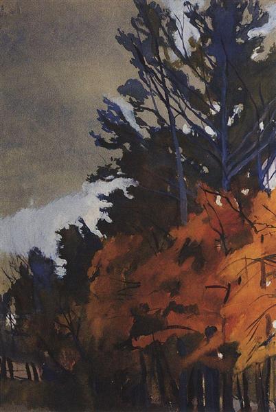 Autumn Landscape, 1914 - Zinaida Serebriakova