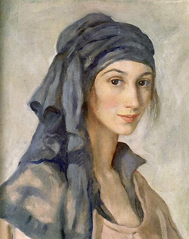 Selfportrait  Zinaida Serebriakova  WikiArt.org  encyclopedia of