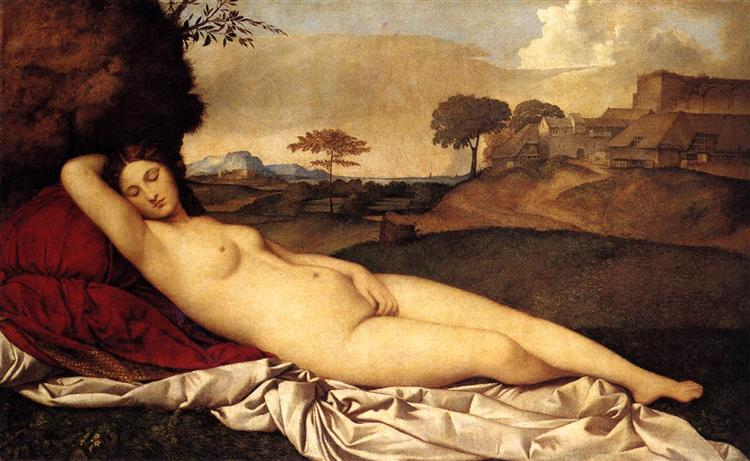 The Sleeping Venus, 1508 - 1510 - Giorgione